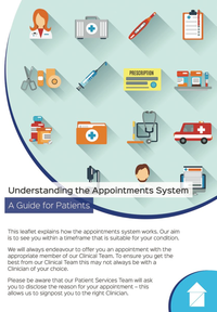Understanding Our Appointments System - A Guide for Patients