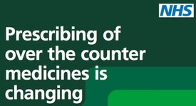Prescribing of over the counter medicines is changing