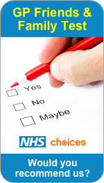 Would you recommend Weeping Cross, Beaconside and John Amery Drive Surgeries to Friends and Family?